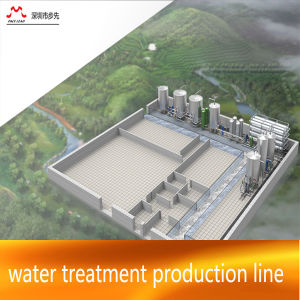 Water Treatment System for 20-200t Per Hour for 3-5 Gallon Bottled Water Plant