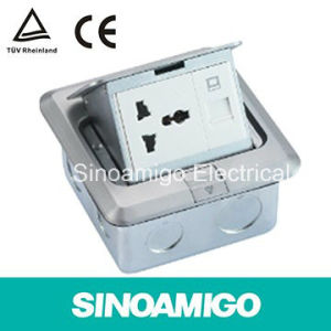 CE TUV Floor Socket Floor Special Purepose Receptable Universal Power Socket Outlet pictures & photos