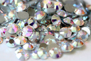 Wholesale Non Hot Fix Flat Back Rhinestones (NHFR02) pictures & photos