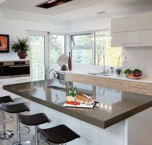 Quartz Stone Surface for Kitchen Countertop pictures & photos