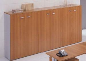 MFC Wooden Furniture Office Shelves Cabinets (DA-098)