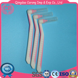 Disposable Cleaning Rubber Handle Toothbrushes Interdental Brushes pictures & photos