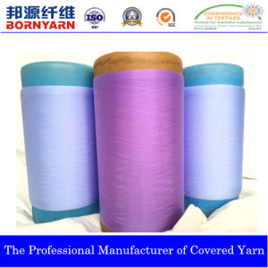 Yarn Covered by Spandex and Pes for Stockings pictures & photos