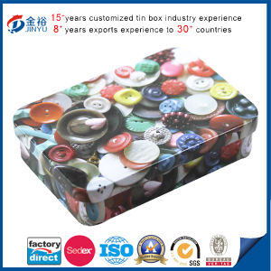 Colorful Small Mints Tin Box with Hinge pictures & photos
