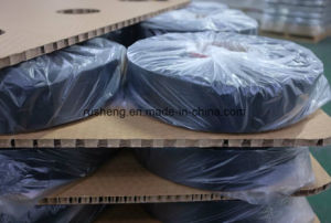 100% Polyester Yarn Black Dope Dyed in Full Dull pictures & photos