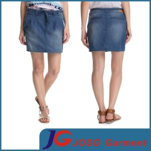 Women Denim Casual Straight Jean Skirts (JC2093) pictures & photos