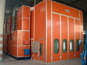 Bus Spray Paint Booth (BD830-8700) pictures & photos