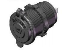 Waterproof Power Socket My1011 for Motorcycle pictures & photos