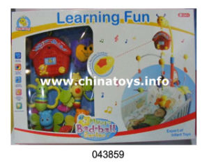 Educational Kids Toy Early Learning Plastic Baby Bed Bell (043859) pictures & photos