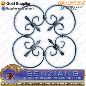 Wrought Iron Rosette Ornaments Designs pictures & photos