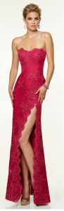 Side Slit Wedding Evening Prom Party Dresses Pd9701 pictures & photos