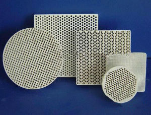 Infrared Ceramic Plate Honeycomb Ceramic Cordierite Plate pictures & photos
