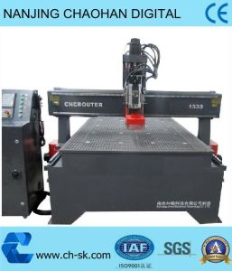 CNC Vacuum Absorption Wood Router Engraving/ Woodworking Machine (SW-1530)