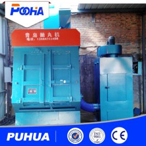 Q32 Tumble Blast Machine for Casting Part Surface Cleaning pictures & photos
