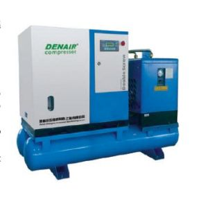Screw Air Compressor with Dryer and Tank pictures & photos