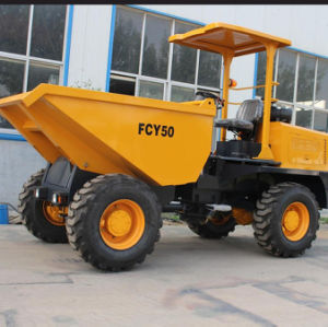 5.0T Hydraulic Site Dumper Fcy50 with Dtutz Engine pictures & photos