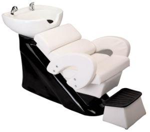 Black Fiber Glass Salon Shampoo Bowl Chair (My-C022) pictures & photos