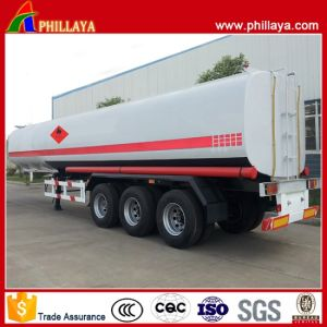 Fuel Tank Semi Trailer Oil Transport Metal Tanker (30-60M3 Optional) pictures & photos