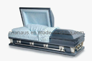 American Style Oversize 18 Ga Steel Casket (18H8002) pictures & photos