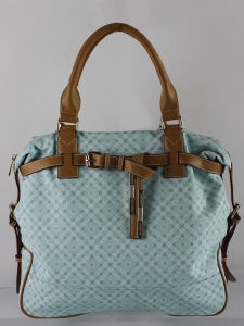 Tweed Tote Bag & Fashion Handbag (E23043)