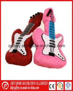 New Plush Stuffed Guitar Toy for Baby pictures & photos