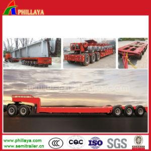 Heavy Duty Low Bed Bridge Beam Transport Semi Trailer pictures & photos