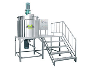 SUS Jacket Emulsification Mixing Tank Oil Blending Machine pictures & photos