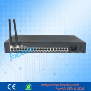 Pabx Intercom System 1-2 Wireless Trunk Line Pabx Ts+416 4co Lines 16extensions pictures & photos