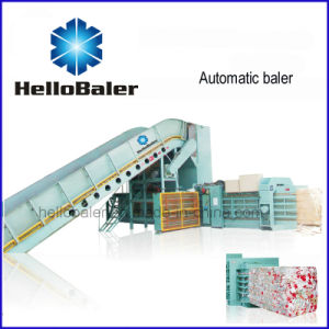25t/H Capacity Automatic Paper Baling Machine From Hellobaler (HFA20-25) pictures & photos