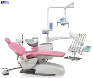 High Quality Blue Color Integral Dental Unit Chair pictures & photos