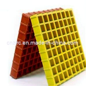Moulded Fibreglass Grating From China / Molded FRP / GRP Gratings pictures & photos