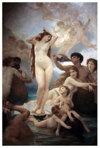 Famous Artists Oil Painting, Art Painting, Masterpiece Oil Painting, Naissance De Venus (1879years) -William Adolphe Bouguereau pictures & photos
