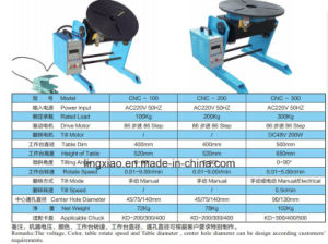 CNC Series Welding Turning Table CNC300 for Circular Welding pictures & photos