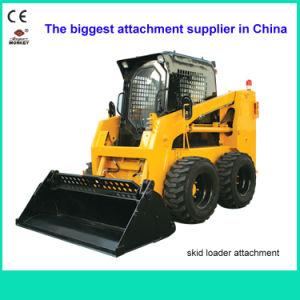 Construction Machine, Attachments, China Bobcat Loader, Rated Load 700kg, Engine Power 50HP Skid Steer Loader (JC45G)