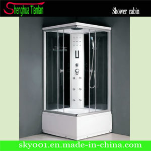 ABS Tray Corner Square Computerized Steam Shower Combo (TL-8813) pictures & photos