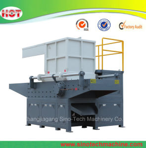 Household Waste Solid Waste E-Waste Circuit Board Single Shaft Shredder pictures & photos