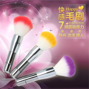 Hairbrush Ultra Stimulate Mini Magic Wand Vibrator Sex Egg pictures & photos
