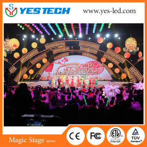 Mg13 Yestech Full Color Round Shaped LED Creative Screen pictures & photos