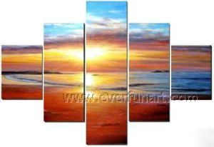 Modern Seascape Painting on Canvas for Wall Decor (SE-188) pictures & photos