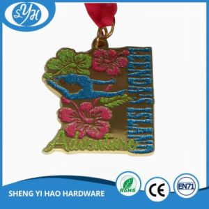 2017 Customized Round Soft Enamel Big Medal for Souvenir pictures & photos