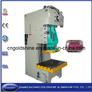 Aluminum Turkey Tray Making Machine (GS-JP 80T) pictures & photos
