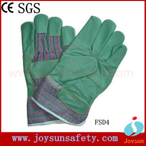 Industrial Safety Glove Furniture Leather Gloves (FSD4)