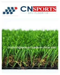 Landscape W Shape Mixed Artificial Grass, Synthetic Artificial Turf pictures & photos