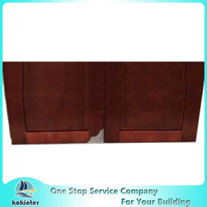 American Style Kitchen Cabinet Cherry Shaker W3015 pictures & photos
