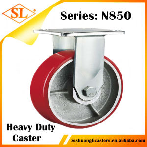 Bzp All Size Regid 100mm Machinery Caster