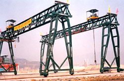 Ae Approved Truss Girder Goliath Crane pictures & photos