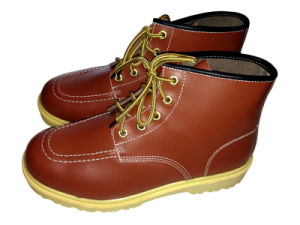 Panama Working Leather Shoes pictures & photos