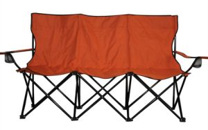 Three Persons Collapsible Beach Chair pictures & photos