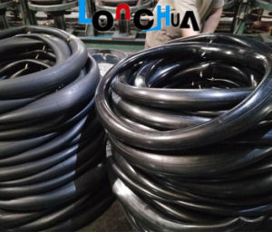 Natural Rubber and Butyl Rubber Motorcycle Tyre and Tube (300-17) pictures & photos