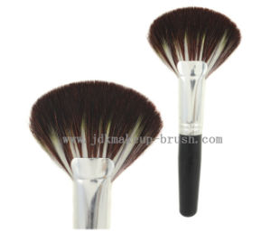 Large Big Fan Brush Short Handle for Makeup (JDK-PA190)